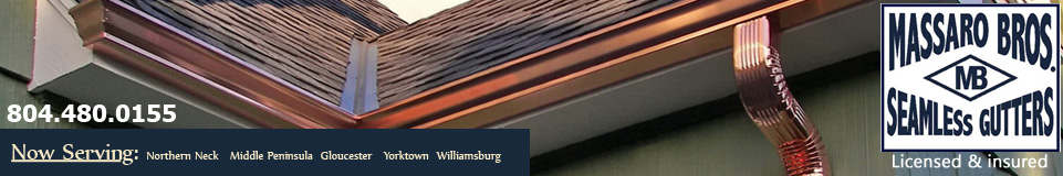Northern Neck VA Gutter Company – Massaro Bros. Seamless Gutters